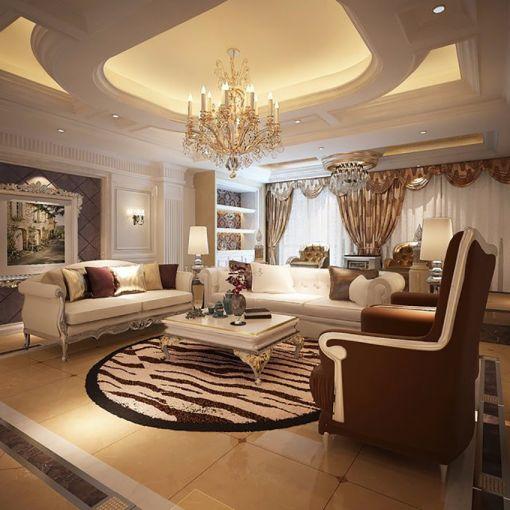 500平欧式风格别墅装修效果图