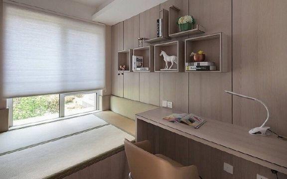 真实米色卧室效果图图片