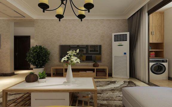 客厅电视柜简约风格装饰图片