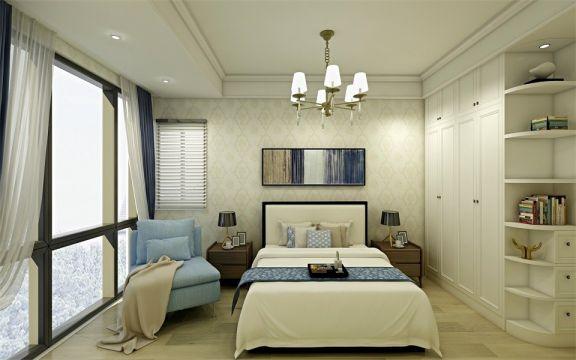 卧室衣柜简单风格装饰效果图