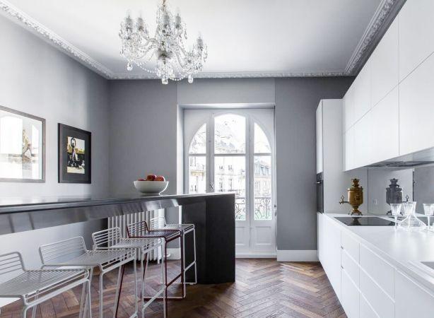 厨房橱柜北欧风格装修设计图片