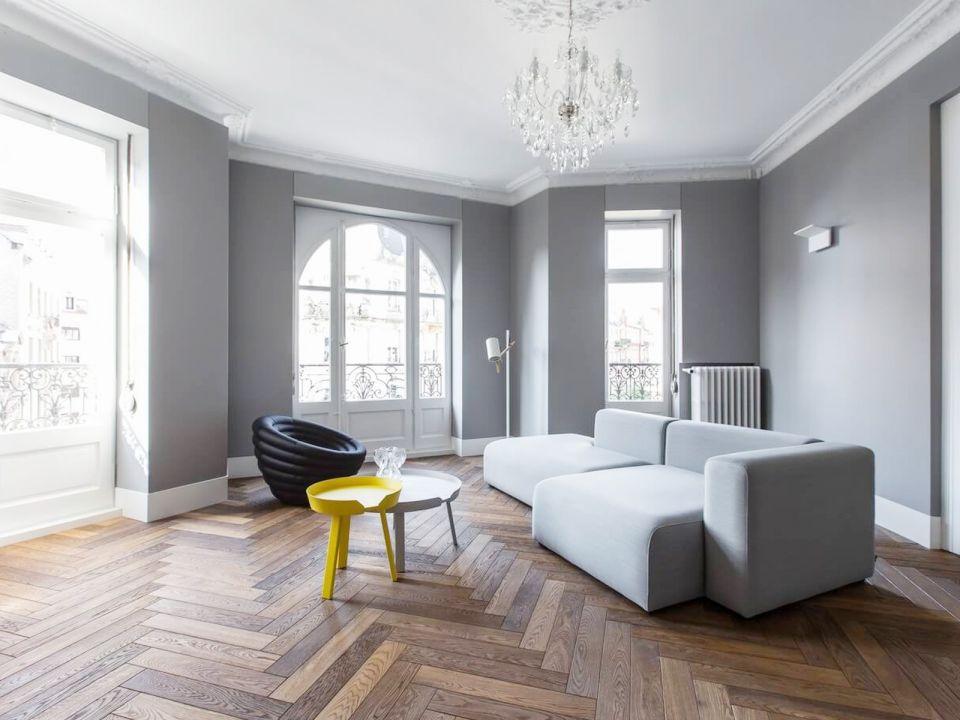 78平北欧风格三居室装修效果图