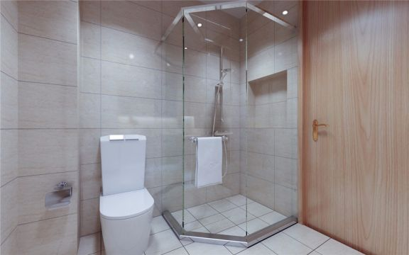 卫生间地砖简约风格装修设计图片