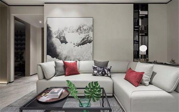 99平现代简约风格三居室装修效果图