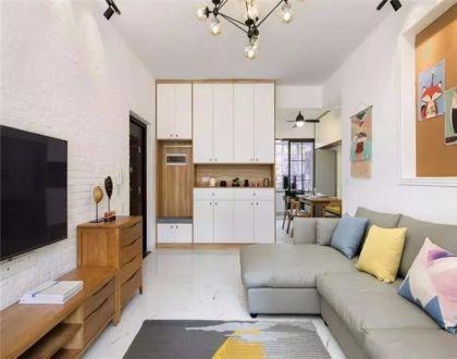 93平北欧风格三居室装修效果图