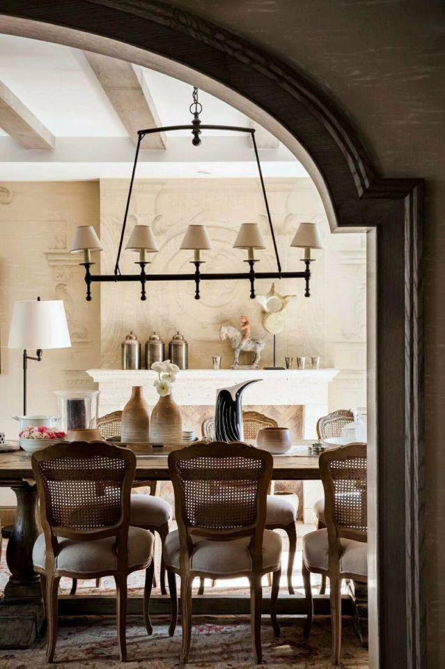 餐厅餐桌法式风格装修效果图