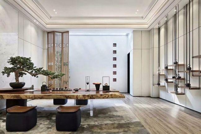 150平新中式风格三居室装修效果图