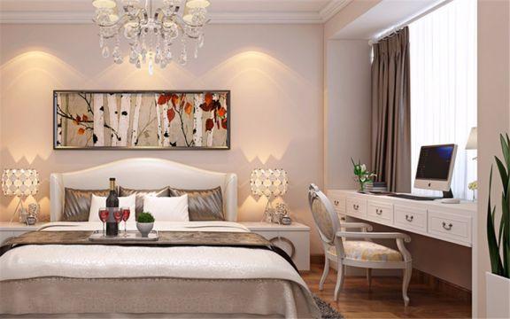 奢华大气卧室现代简约装修实景图片