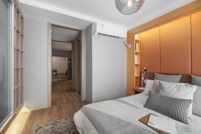 卧室床现代装修设计图片