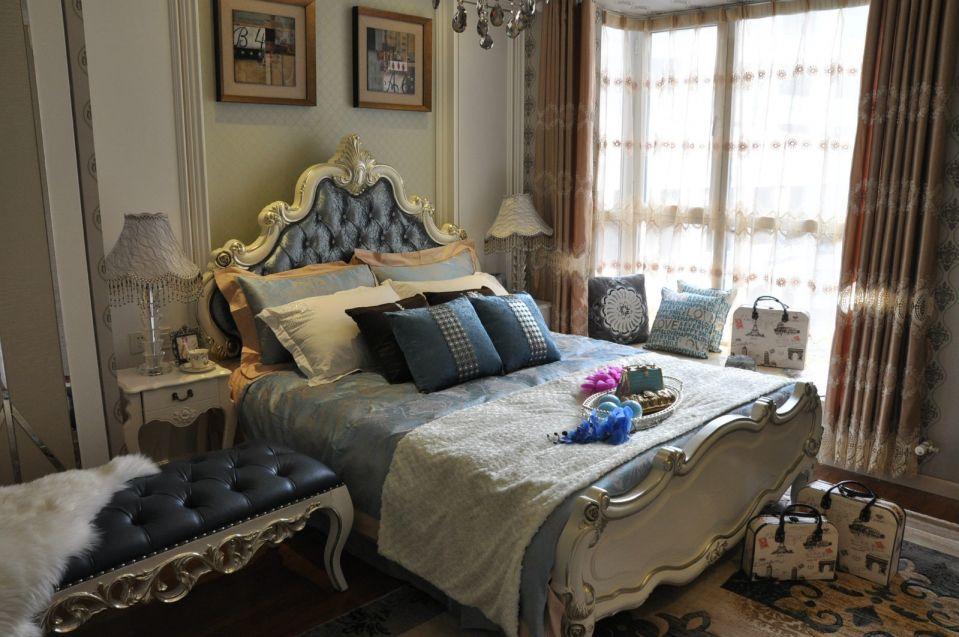 2019新古典卧室装修设计图片 2019新古典床图片