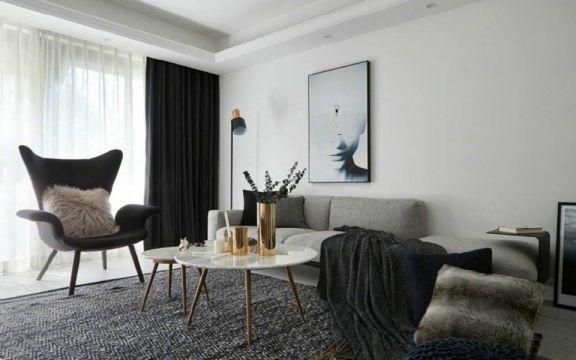 2018北欧110平米装修设计 2018北欧公寓装修设计