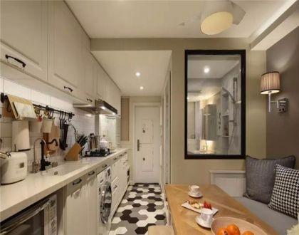 38平北欧风格一居室装修效果图