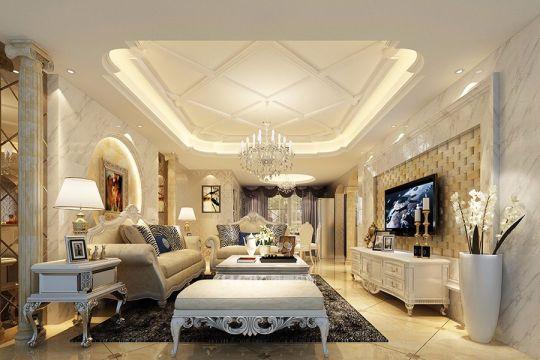 178平欧式风格四居室装修效果图