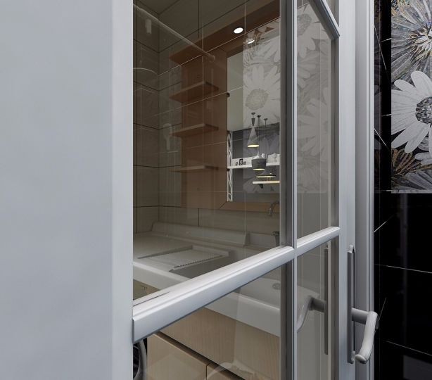 33平现代简约风格一居室装修效果图