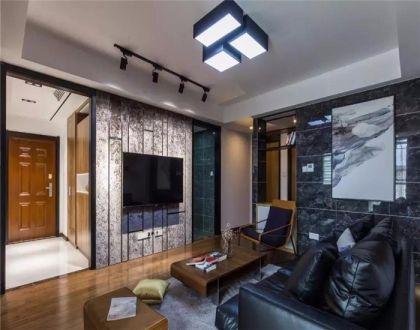 123平现代简约风格三居室装修效果图