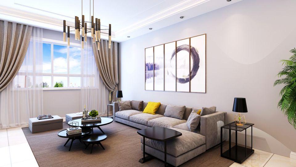 178平现代简约风格楼房装修效果图