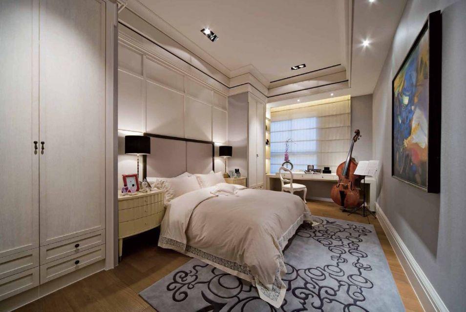 185平现代简约风格四室两厅一厨五卫装修效果图