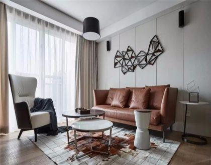 135平现代风格四居室装修效果图