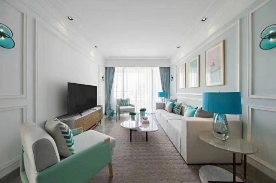 98平北欧风格两居室装修效果图