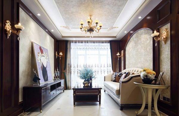 2018欧式110平米装修设计 2018欧式二居室装修设计