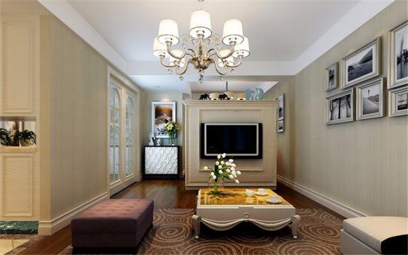 89平米简欧风格三居室装修效果图