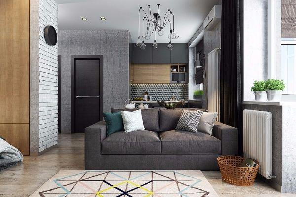 2019美式70平米设计图片 2019美式一居室装饰设计