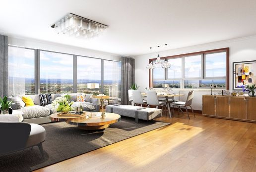 2018现代简约90平米装饰设计 2018现代简约一居室装饰设计
