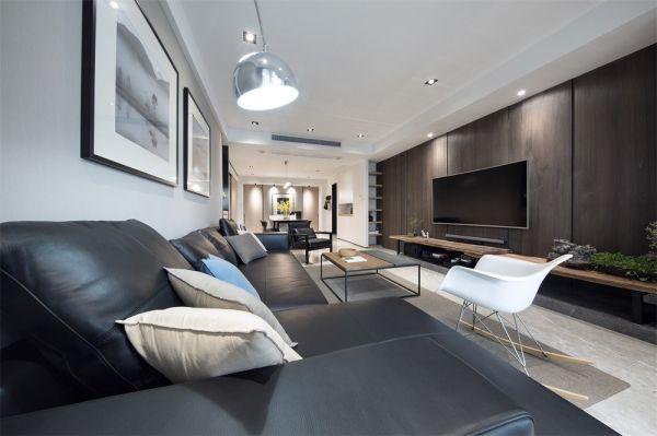 2018简约150平米效果图 2018简约公寓装修设计