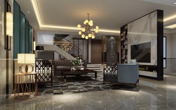 2020現代300平米以上裝修效果圖片 2020現代別墅裝飾設計