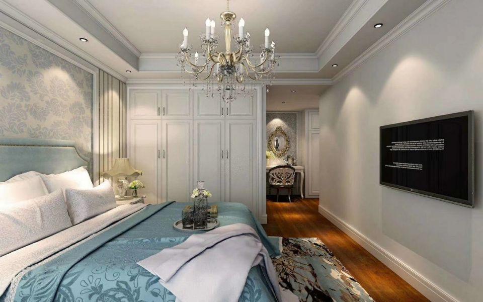 卧室衣柜法式风格装潢设计图片