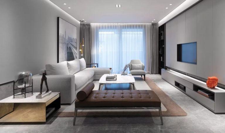 165平新中式风格公寓装修效果图