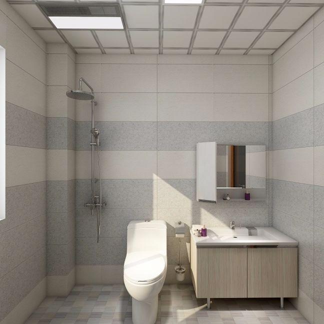 卫生间洗漱台简约风格装饰设计图片
