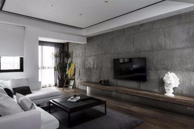 110平现代简约风格三室一厅装修效果图