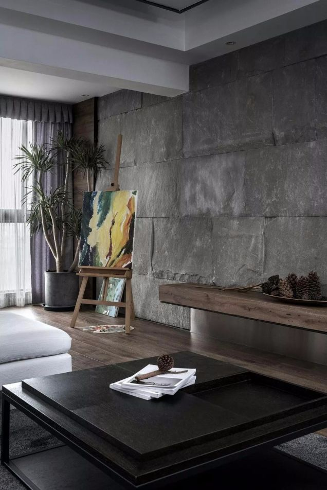 客厅茶几现代简约风格装饰效果图