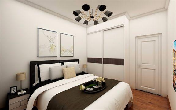 个性卧室实景图