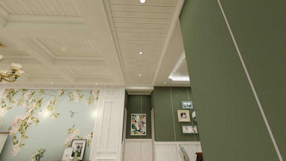 文艺客厅室内装修设计