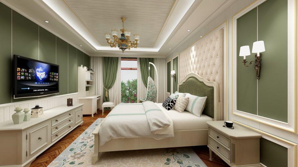 典丽矞皇卧室窗帘实景图