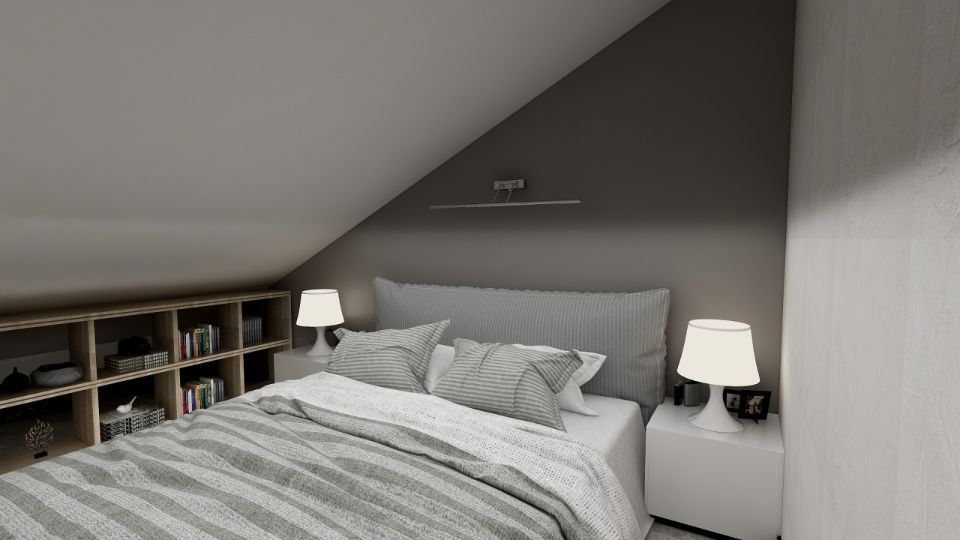 独具一格现代灰色背景墙装修方案