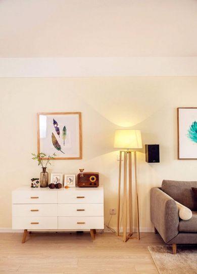 客厅米色灯具现代风格装饰效果图