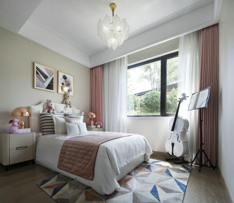 摩登窗帘装潢图片