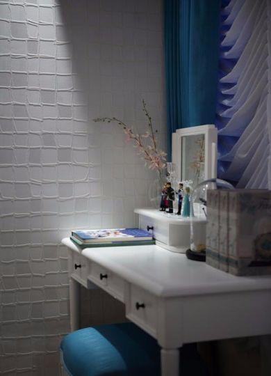 卧室白色书桌美式风格装饰效果图