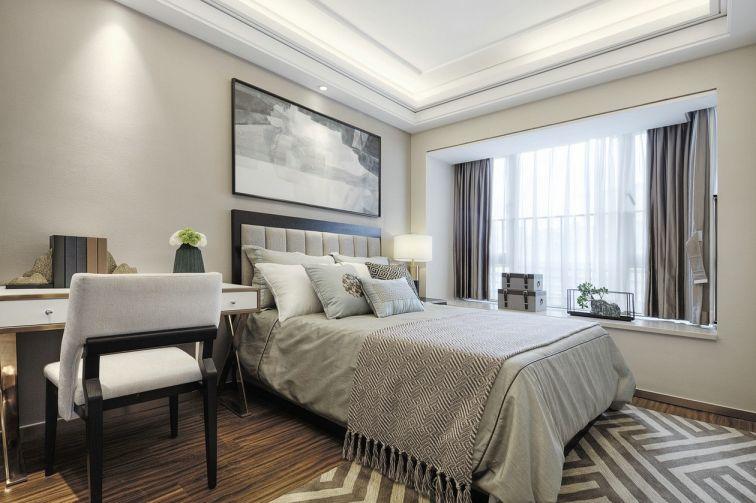 设计优雅卧室混搭构造图
