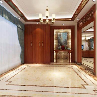 中式客廳吊頂家裝設計
