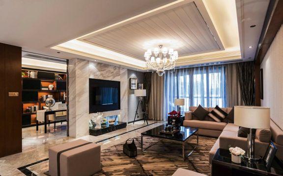 78平简约风格两室一厅装修效果图
