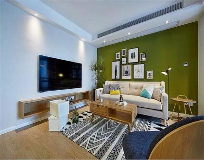 116平北欧风格三居室装修效果图