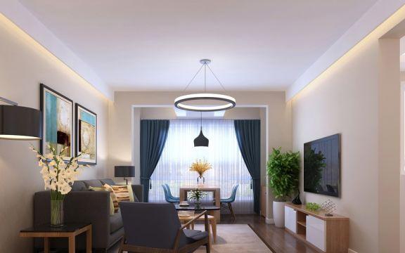 187平欧式风格四居室装修效果图