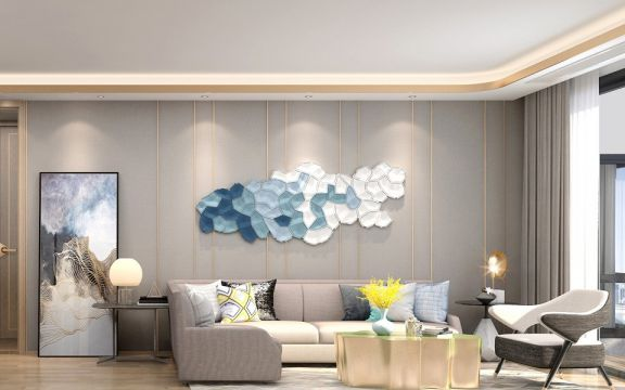 114平北欧风格三居室装修效果图
