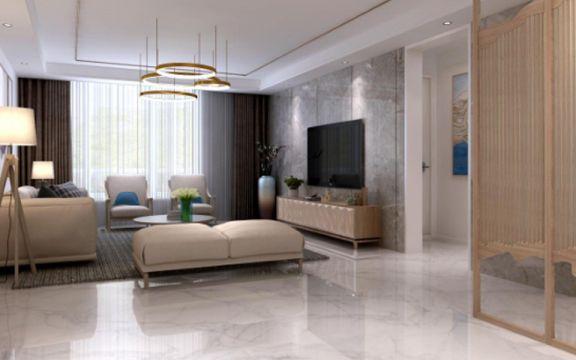 168平北欧风格四居室装修效果图