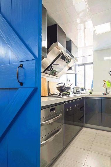 欧式风格厨房地砖效果图