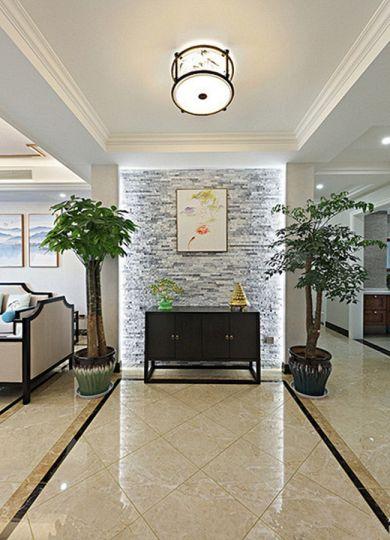 高贵风雅客厅新中式吸顶灯案例图片